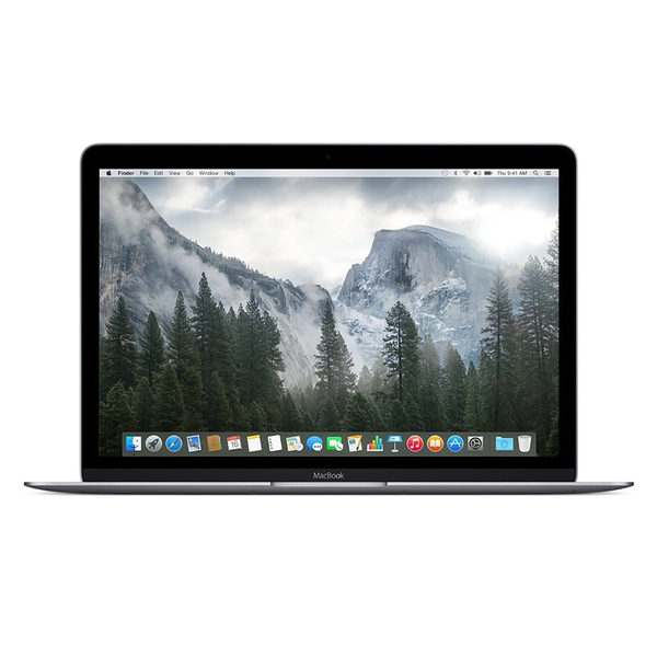 Apple Macbook 5JY32LL/A 12.0-inch 256GB Intel Core M Dual-Core Laptop - Space Gray (Certified Refurbished)
