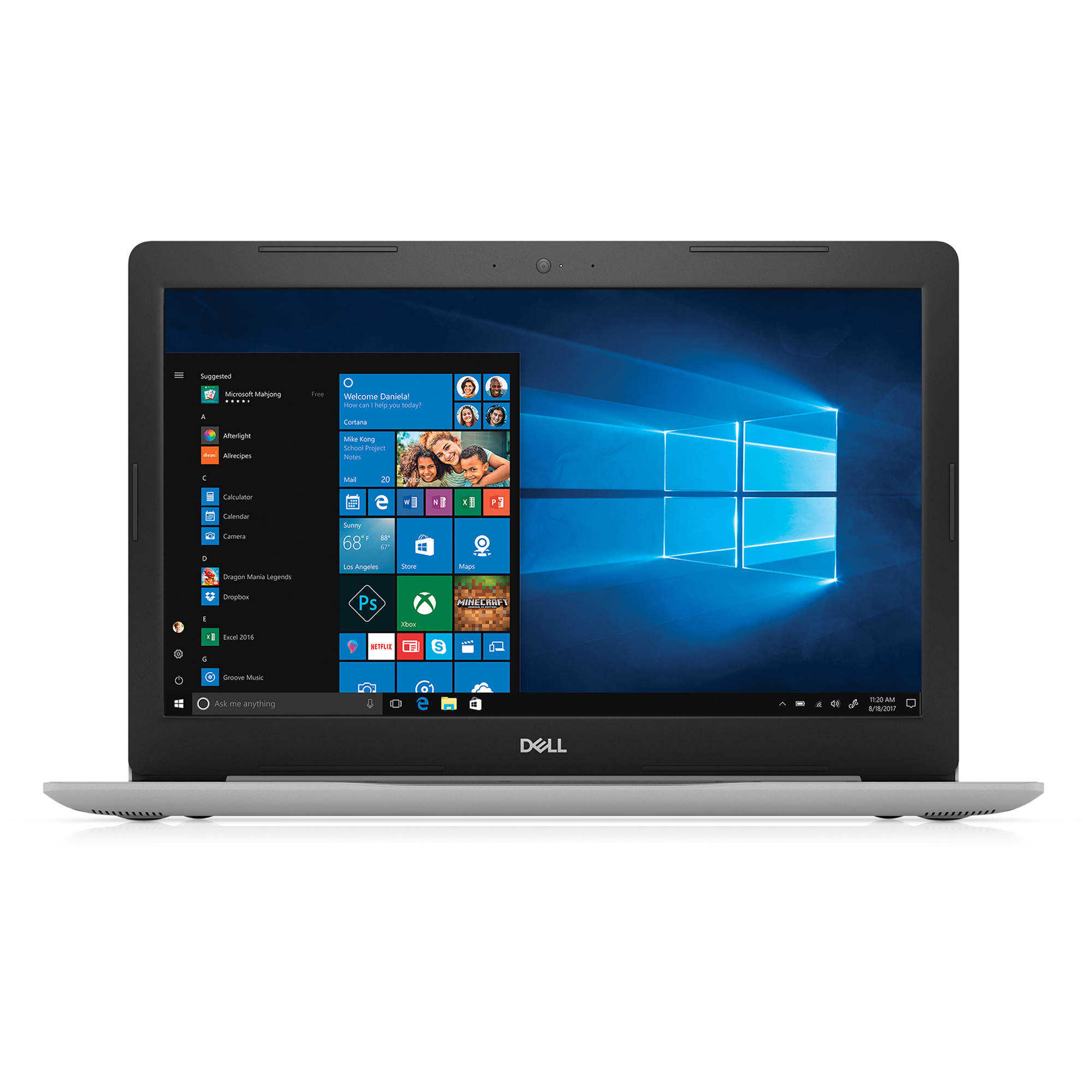 Dell Inspiron 5000 15.6' LCD Notebook - Intel Core i5 (8th Gen) i5-8250U Quad-core (4 Core) 1.6GHz - 8GB DDR4 SDRAM - 1TB HDD - Windows 10 Pro